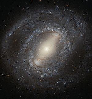 NGC 4394 - Image: Hubble spies NGC 4394
