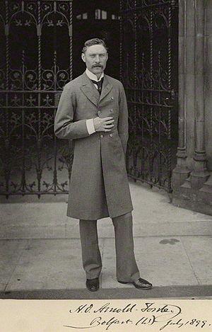 H. O. Arnold-Forster - Image: Hugh Arnold Forster, 1899