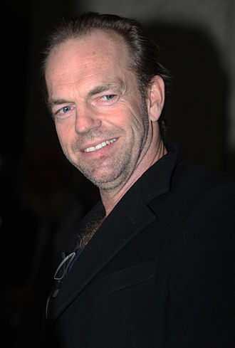 V for Vendetta (film) - Actor Hugo Weaving in 2012. He portrayed V in the film, keeping his face hidden by his mask or obscured throughout.