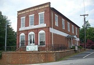 Pendleton Historic District (Pendleton, South Carolina) United States historic place
