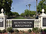 Huntington Blvd, Fresno, California.JPG