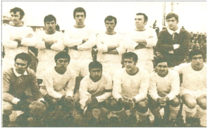 Club Atlético Huracán de Ingeniero White - The champion team in group D of the Torneo Regional 1968.