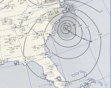 Hurricane Diane August 17, 1955 weather map.jpg