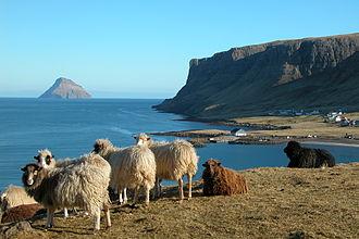 Hvalba - Image: Hvalba scenery