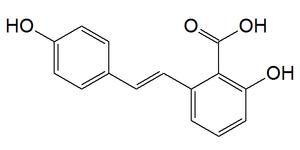 Hydrangeic acid - Image: Hydrangeic acid