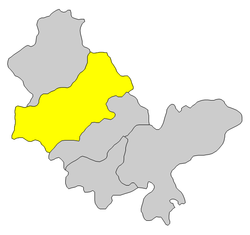 Location in Huizhou City