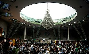 Iʿtikāf - I'tikaf at the University of Tehran in Iran, April 2016.