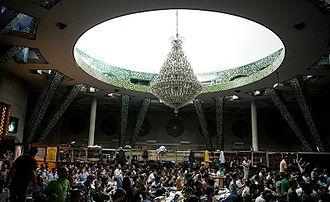 Iʿtikāf - I'tikaf at the University of Tehran in Iran, April 2016.