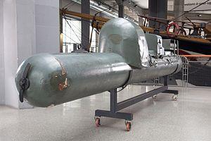 Human torpedo - Manned torpedo, called Maiale, at the Museo nazionale della scienza e della tecnologia Leonardo da Vinci of Milan.