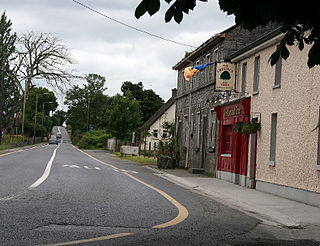 Killashee Village in Leinster, Ireland