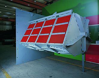 Taprogge - Airflushed intake filter called TAPIS