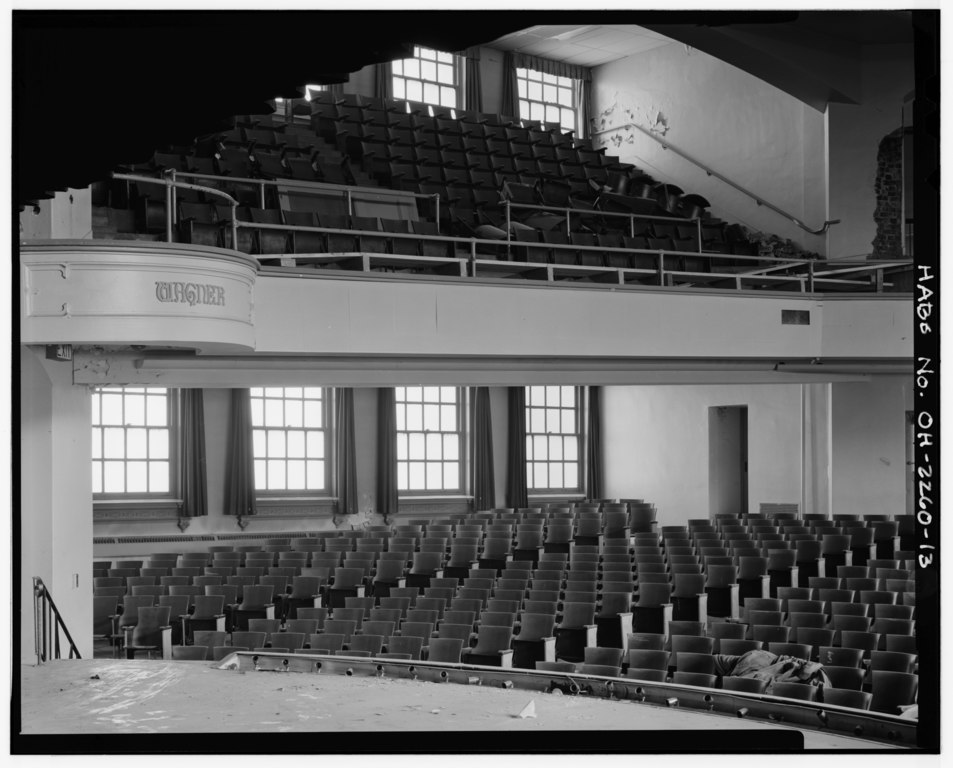 File Interior Large Auditorium Looking Northeast From