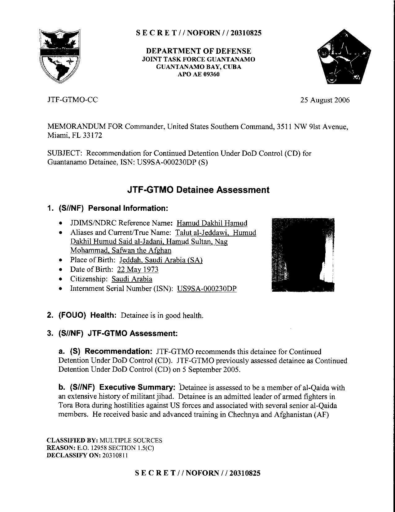 ISN 230's Guantanamo detainee assessment.pdf