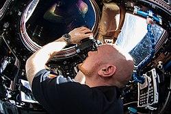 ISS-41 Alexander Gerst in de koepel.jpg