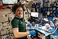 ISS-59 Christina Koch works inside the Harmony module (3).jpg