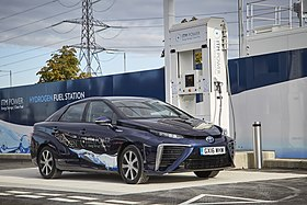 ITM Power Hydrogen Station and Toyota Mirai.jpg
