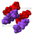 Ibuprofen-unit-cell-enantiomers-3D-vdW.png