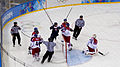 Ice hockey at the 2014 Winter Olympics – Men's tournament Czech Republic vs Slovakia 3.jpg