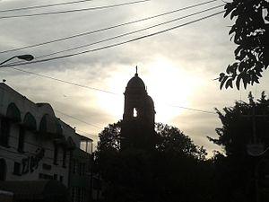 Colonia Obrera - Backlighting photograph of San José de los Obreros church