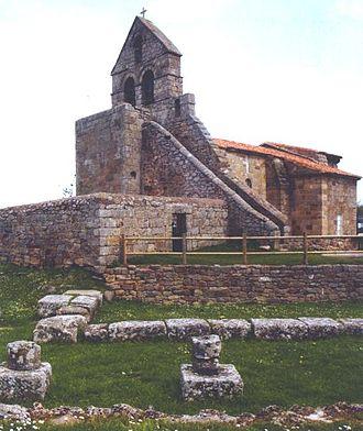 Campoo de Enmedio - Romanesque church of Santa María de Retortillo (12th century).