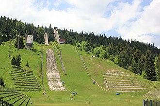 Igman - Image: Igman – Olimpijske skakaonice 5