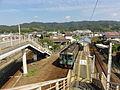 Ikenotani Station platform 3-4 20110908.jpg