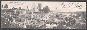 Ilsfeld - Aftermath of 1904 fire