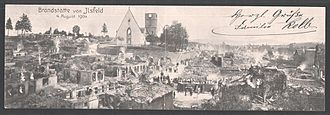 Ilsfeld - Aftermath of 1904 fire