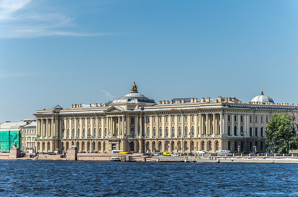 Imperial Academy of Arts in SPB