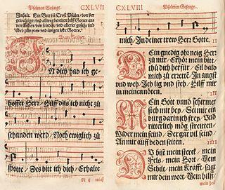 In dich hab ich gehoffet, Herr German Lutheran hymn, paraphrasing Psalm 31