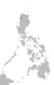 Inalod Itneg language map.png