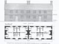 Indian College at Harvard College conjectural image drawn by Harold Robert Shurtleff.png