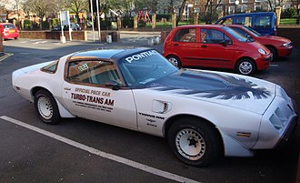 1980 Indianapolis 500 - Image: Indy 500 Pace Car