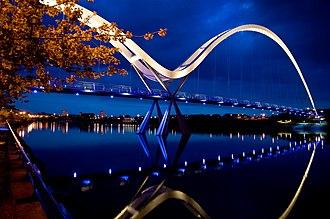 Expedition Engineering - Infinity Bridge, Stockton-on-Tees