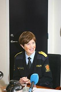 Ingelin Killengreen Norwegian police chief