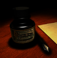 Ink Bottle and Pen by Pablo Perez.png