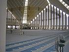 Inside Shah Faisal Mosque