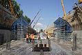 Installation Russian Mobil Formwork System Stalform for underground construction 01.jpg