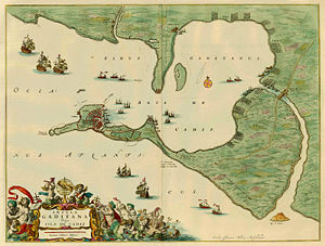 Capture of Cádiz - Image: Insula Gaditana
