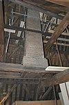 interieur stadhuis, zolder, schoorsteen op draagbalken - schiedam - 20338050 - rce