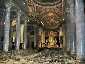 Saint Bartholomew, Brugherio - The interior of Saint Bartholomew Church
