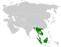 Iole distribution map.png