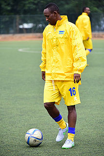 Jean-Claude Iranzi Rwandan footballer