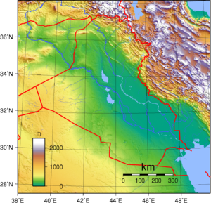 Geography of Iraq - Topography of Iraq.