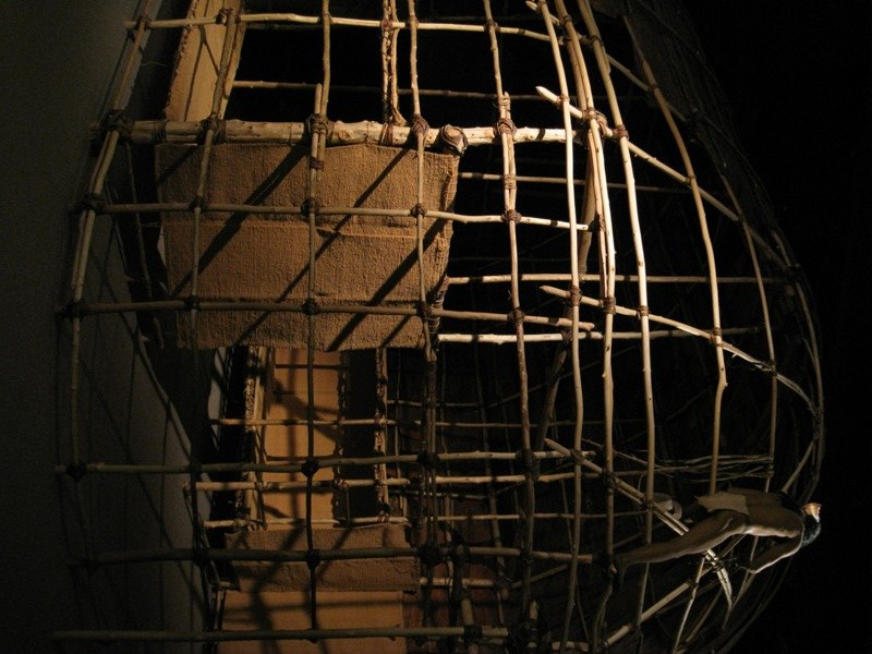 Iroquois longhouse