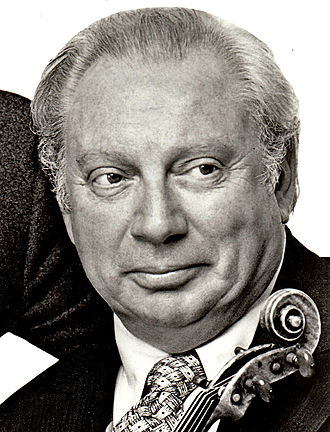 Isaac Stern - Stern at his 60th birthday concert at Lincoln Center, 1980