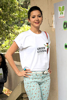 Isha sharwani go green initiative.jpg