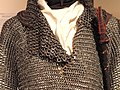 Islamic armor, mail coat, Egypt or Ottoman Turkey, 1500s with later alterations - Higgins Armory Museum - DSC05534.JPG