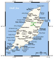 Map of the Isle of Man