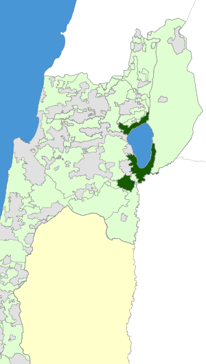 Israel Map - Emek HaYarden Regional Council Zoomin.svg